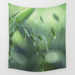 dew drop morning Wall Tapestry