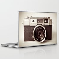 camera Laptop & iPad Skins featuring Camera by Tuky Waingan