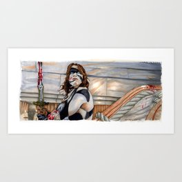 Conan the Barbarian - So this is Paradise Art Print