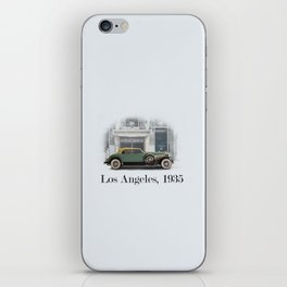 A Duesenberg in Los Angeles iPhone Skin