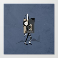Moonwalkman Canvas Print