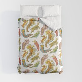 Ernst Haeckel Nudibranch Sea Slugs Comforters