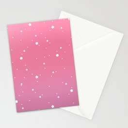 Raspberry Stars Stationery Cards