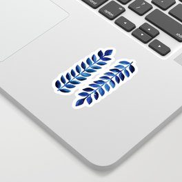 Tropical Indigo II Sticker