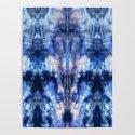 Blue Lagoon Tie-Dye by ninamay