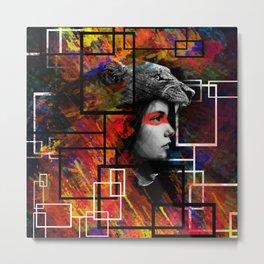 Queen of leons Metal Print