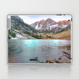 Sunrise over the Maroon Bells Laptop & iPad Skin