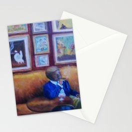 Jazz Club by Marianne Fadden Stationery Cards