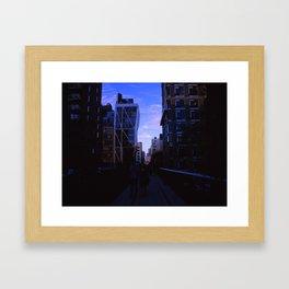 Taking The High Line  Framed Art Print
