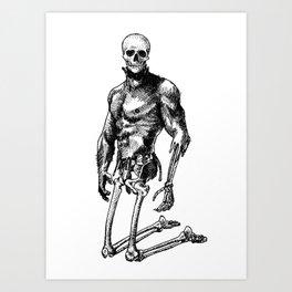 Pietro 2 - Nood Dood Spooky Booty Art Print