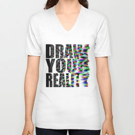 Draw Your Reality Unisex V-Neck