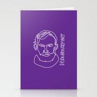 hemingway Stationery Cards featuring Hemingway by G_Stevenson