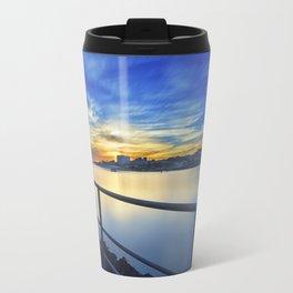 Smooth river. Travel Mug