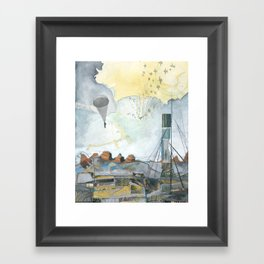 Exploration: Drought Framed Art Print