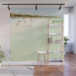 Seaside Swim Wall Mural