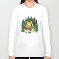 laura palmer Long Sleeve T-shirts featuring Twin Peaks Secret Diary of Laura Palmer by Lindsey Caneso