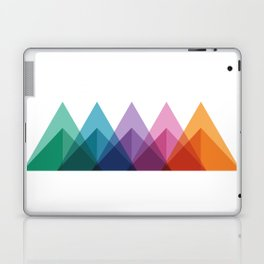 Fig. 009 Colorful Triangle Mountain Chain Laptop & iPad Skin