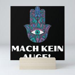 Mach kein Auge bruder, schwester Mini Art Print