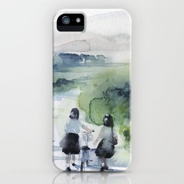 on my way home iPhone Case