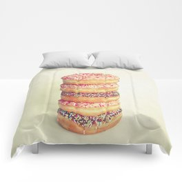 Stack of Donuts Comforters