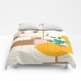 Inside mid century modern 321 Comforters