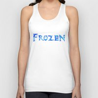 frozen Tank Tops featuring Frozen  by Sierra Christy Art