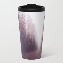 Foggy Forest Trail Travel Mug