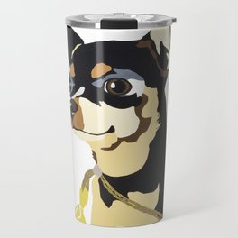 Fidget Wigglesworth in Blue Travel Mug