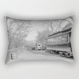 Public Gardens Portal, Tremont Street Subway, Boston 1904 Rectangular Pillow