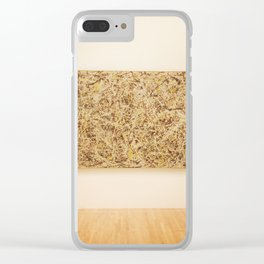 """Jackson Pollack """"Number 1. 1949"""". January 2017 Clear iPhone Case"""