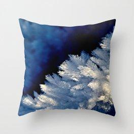 Frozen details Throw Pillow