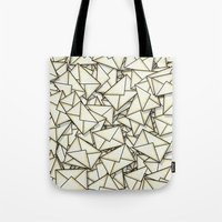 geek Tote Bags featuring Email by 10813 Apparel