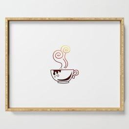 Coffee mug cafe gift Serving Tray