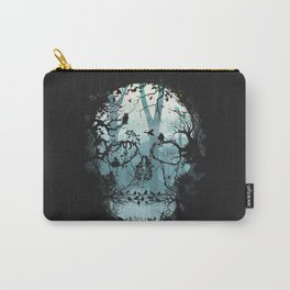 Dark Forest Skull Carry-All Pouch