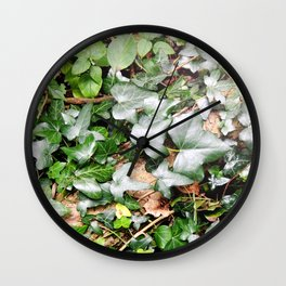 On The Forest Floor Wall Clock
