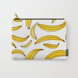 Watercolor bananas - yellow Carry-All Pouch