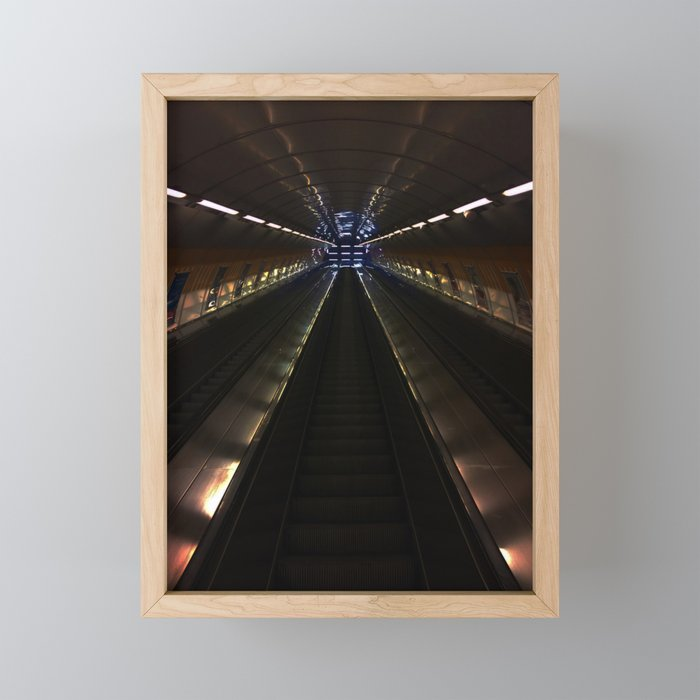 Stairway to awesomeness Framed Mini Art Print