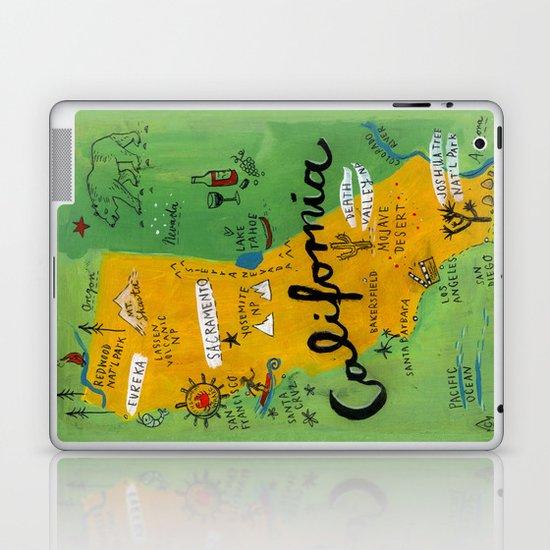Postcard from California Laptop & iPad Skin