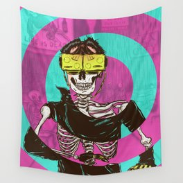 Virtual Dead Reality Wall Tapestry