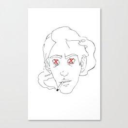 korrupt Canvas Print