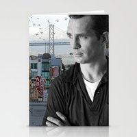 kerouac Stationery Cards featuring Jack Kerouac San Francisco  by All Surfaces Design