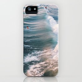 Surf at Sunset iPhone Case