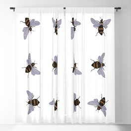 bees Blackout Curtain