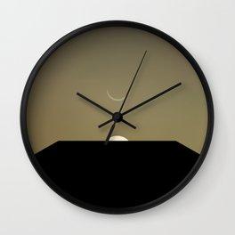 2001 Space Odyssey Minimal Dawn of Man Monolith Alignment Wall Clock