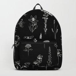 Patagonian wildflowers Backpack