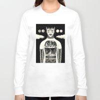 jon snow Long Sleeve T-shirts featuring Under Skin by Jon MacNair