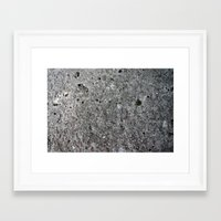 concrete Framed Art Prints featuring concrete by Seed Margarita