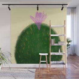 Watercolor Cactus Wall Mural