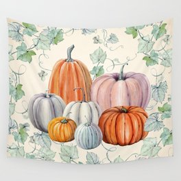 Pumpkin Patch Wall Tapestry