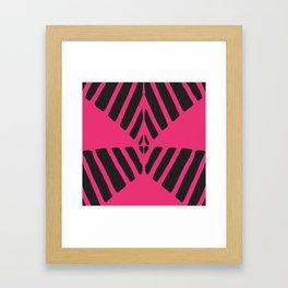 Dune-Magenta Framed Art Print